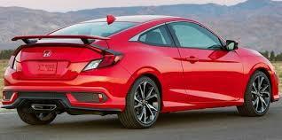 Honda Civic Si Interior 2018 Honda Civic Si Redesign Exterior And Interior With Price