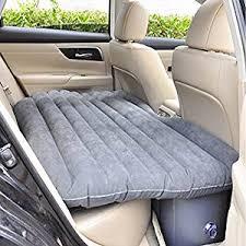 shag kihika car travel air bed pvc inflatable mattress pillow