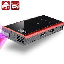 projector for android 120 lumen mini android dlp projector black cvxn e422 black
