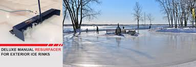 backyard ice rink resurfacer part 35 resurfacing your ice with