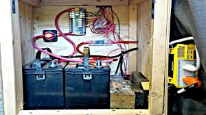 van life campervan rv electrical system explained battery bank
