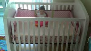Mini Crib Convertible by Dream On Me Addison 5 In 1 Convertible Crib With Storage In Gray