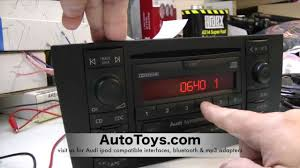 how to unlock audi radio code read safe mode by autotoys com