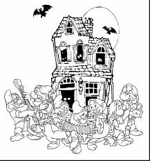 terrific halloween ghost coloring pages with disney halloween
