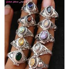 rings wholesale images 10 pcs wholesale silver assorted poison rings jpg