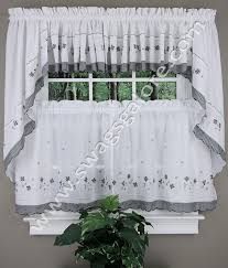 Black Gingham Curtains Gingham Kitchen Curtains Black United Curtains Sheer Kitchen