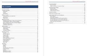 restaurant business plan template pdf india cmerge