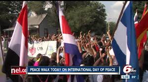 Indy Flag Indy Students Take Part In International Day Of Peace By Leading A