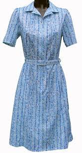 elderly women dresses sleeve dress by rival light blue abstract pattern standard fit