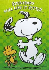 holographic animated get well card snoopy and woodstock