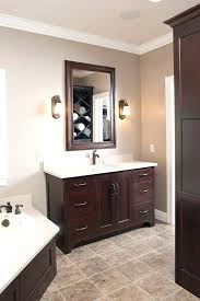 dark wood bathroom vanity dark wood bathroom vanity set bathroom