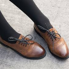 womens brown leather boots sale best 25 brogues womens ideas on oxford shoes oxfords