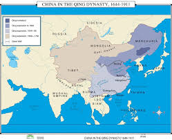 Beijing World Map by Universal Map World History Wall Maps China In Qing Dynasty