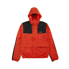 North Face Light Jacket The North Face 1985 Seas Mountain Jacket Fiery Red U20ac 66 50
