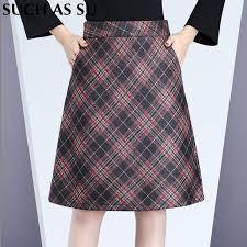 Wool Skirts For Winter Online Get Cheap Fall Winter Wool Skirt Aliexpress Com Alibaba