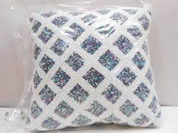 tahari home beaded decorative throw pillow amazon ca home u0026 kitchen