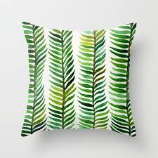 leaf throw pillows society6