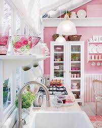 pink kitchen ideas pink kitchens home design ideas and pictures