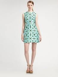 french connection dress samantha sequins stretch tribal teal 8us