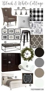 black and white home interior best 25 black white decor ideas on modern decor