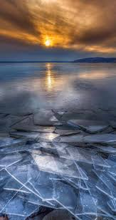 Wisconsin travel wallpaper images Frozen sun 9 amazing and beautiful snowy and ice lake scenery jpg