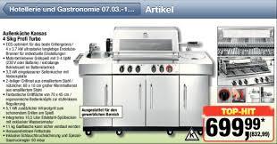 aussenküche edelstahl gasgrill außenküche bei metro 7 3 2013 grillforum und bbq