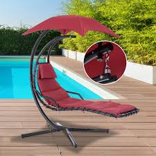 Outdoor Hanging Lounge Chair Hanging Lounger Peeinn Com