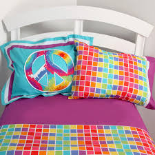 Cool Comforters Bedrooms Using Colorful Tie Dye Bedding For Pretty Bedroom
