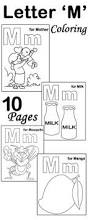 my a to z coloring book letter m coloring page pre k alphabet