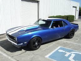 blue 68 camaro this 68 camaro called deja vu oddly feels familiar chevy