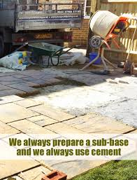 Laying Patio Slabs Patio Slabs Henfield Paving