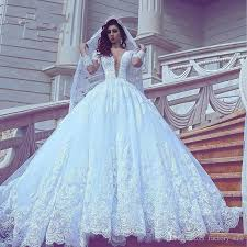 wedding gown design 2018 new design gown lace wedding dresses illusion v