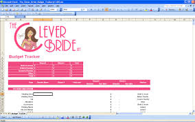wedding budget planner 15 useful wedding spreadsheets excel spreadsheet