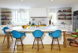 blue stools design ideas