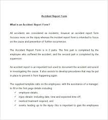 report writing format template financial account management