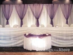 Wedding Reception Decorations Lights Elegant Wedding Reception Backdrop Ivory Drape Lighting