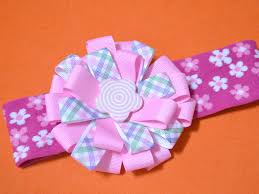 cheap hair bows 3 ways to make a ribbon hair bow with flowers wikihow