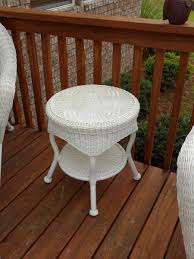 Patio Furniture Wicker Resin - for sale hampton bay java white resin wicker patio furniture