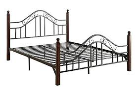 bed frame metal queen metal metal bed frame queen walmart
