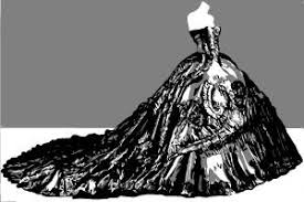 how to draw a wedding gown drawingnow