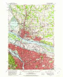Portland Neighborhood Map Poster by Hidden Hydrology Landscape Urbanism