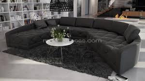 vente de canapé canape angle panoramique intérieur déco