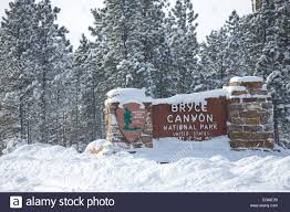 bryce national park entrance sign in utah united states in