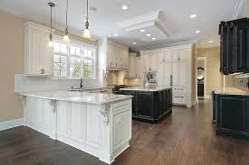 Kitchen Cabinets And Flooring Combinations Cabinet Kitchen Hardwood Floor Childcarepartnerships Org
