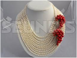 wedding bead necklace images Nigerian beads for traditional wedding nigerian bride jpg