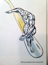 silver surfer by stan lee and jack kirby 1978 mars will send