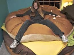 the cheese burger bed awesome hamburger bed youtube