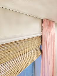 Where To Hang Curtain Rods A Ceiling Mount Curtain Rod Chris Loves Julia