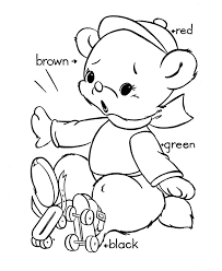 teddy bear coloring pages free printable coloring