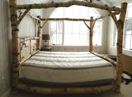 King Size Pine Bed Frame Wooden Bed Frame King Size 12 Photos Gallery Of Make A Canopy Bed